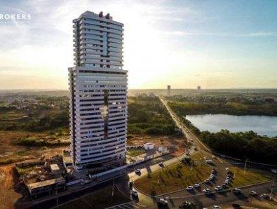 Justiça manda construtora acabar com mau cheiro em prédio comercial de 33 andares em Cuiabá