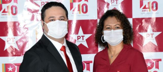 Candidatos foram anunciados durante Convenção neste domingo (13). Foto: Varlei Cordova/AGORA MT