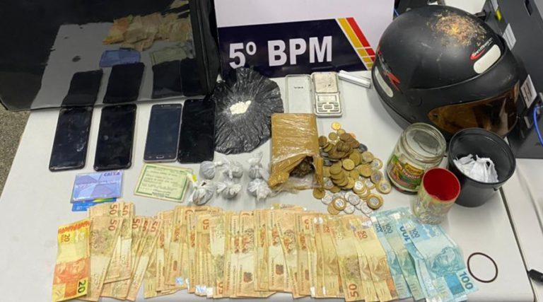 Material apreendido com os suspeitos em Rondonópolis. Foto: Divulgação