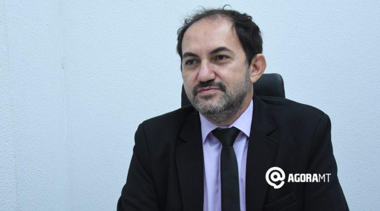 """""""Isso para mim foi uma novidade, mas não me é estranho"""", afirmou o secretário Alexandre Maia, que tem longa experiência no rádio – Foto Varlei Cordova/AgoraMT"""