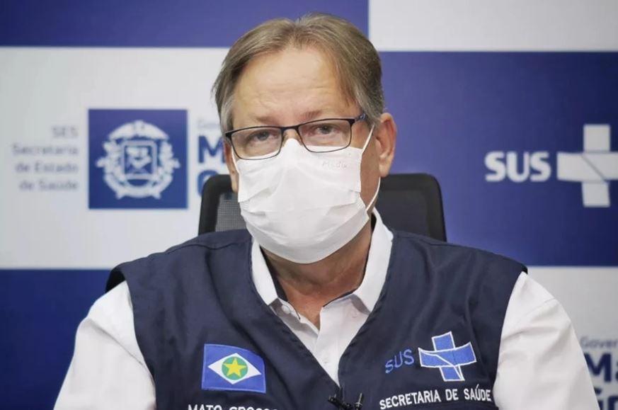 O secretário Gilberto Figueiredo, que pediu ajuda para transferir pacientes de MT – Foto: Da assessoria