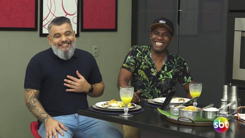 Marmitão do Popão recebe o ator André D'Luca