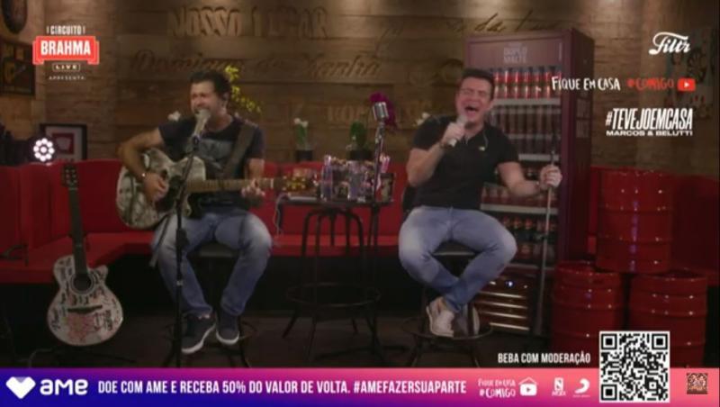 Agora | Live de Marcos & Belutti #fiqueemcasa