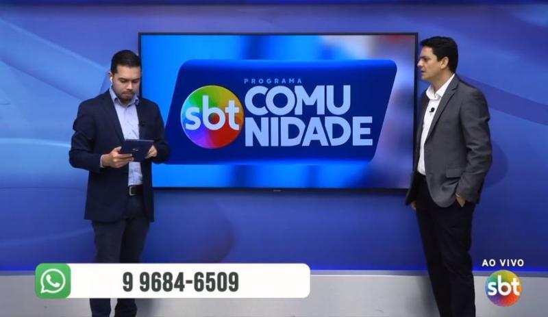 SBT COMUNIDADE - SINOP - 1ª EDIÇÃO - 31/08/2020