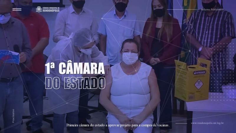 INFORME PUBLICITÁRIO - CÂMARA DE RONDONÓPOLIS - 30/07/2021