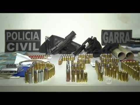 DERF PRENDE QUATRO PESSOAS COM ARMAS, DROGAS E MAIS DE ONZE MIL REAIS EM DINHEIRO EM NOVA MUTUM