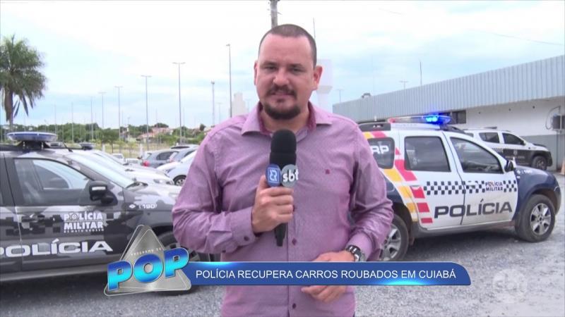 Polícia recupera carro roubado em Cuiabá